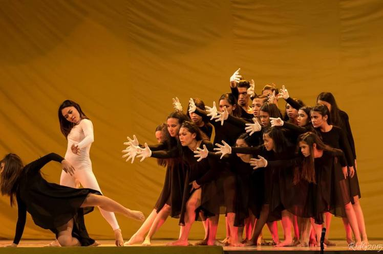 Sol Fernandez School of Dance in The Hand, choreography by Candice Behlert. Photo courtesy of C-MAP.